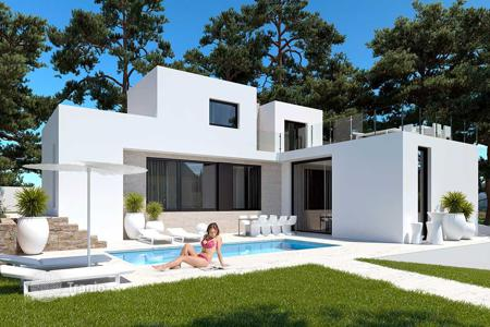 Houses for sale in Benissa. Exclusive villas with large plot and private pool in Benissa