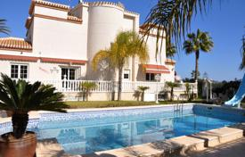 Luxury 6 bedroom houses for sale in Costa Blanca. Fashionable villa with a pool and a garden in Playa Flamenca, Alicante, Spain