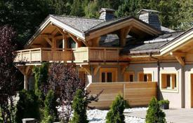 Residential to rent in Chamonix. Modern three-storey chalet with a cinema in the ski resort Argentiere, France