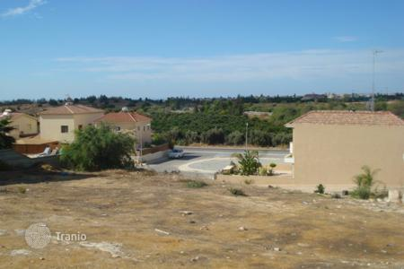 Land for sale in Kolossi. Building Plots