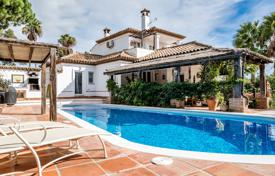 A 2 storey villa, full of character with beautiful south facing terraced gardens, pool and views to San Roque golf course for 795,000 €