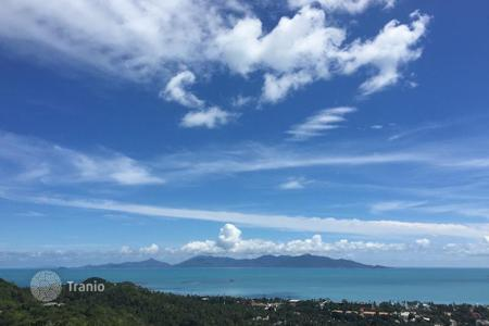 Land for sale in Thailand. A plot of land with sea view in Bophut area of Koh Samui