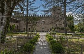 Luxury residential for sale in Umbria. An ancient, charming estate with a 14th century castle settled in a peaceful countryside setting just a few kilometres away from Perugia