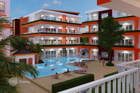 Residential for sale in Thailand. Guaranteed rental income — 10% per annum for 10 years! Furnished studio in a new residence with an aquapark, at 200 m from the sea, Samui