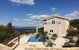 Property for sale in Solta. Sea view villa with a garden, a swimming pool and a parking, Solta island, Croatia