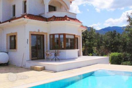 3 bedroom houses for sale in Northern Cyprus. Located in an elevated position in Esentepe village, this fantastic 3 bedroom villa with a swimming pool and private garden