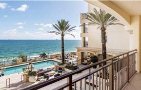 Property for sale in North America. Studio apartment with an ocean view in an elite condominium, Fort Lauderdale, Florida, USA