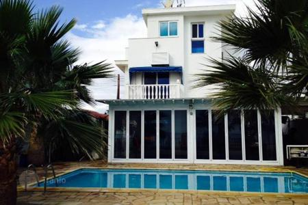 Houses with pools for sale in Larnaca. Villa with a swimming pool and private beach in Zygi for Sale €1,379,000
