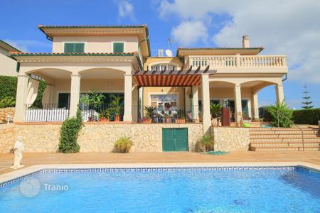 3 bedroom houses for sale in Balearic Islands. Beautiful sea view villa with a swimming pool in Cala Vinyas, Majorca, Balearic Islands, Spain