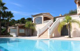 2 bedroom houses for sale in Côte d'Azur (French Riviera). Beautiful Provencal villa with a pool, a garage and a sea view, in a prestigious area, Vallauris, France