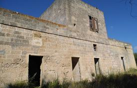 Houses for sale in Apulia. Ancient masseria with the Paleolithic caves, Ugento, Italy