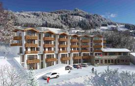 3 bedroom apartments for sale in Austrian Alps. Duplex apartment with a terrace and three balconies in a new residential complex in the ski resort of Alpendorf, St Johann im Pongau