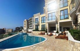 Apartments with pools for sale in Southern Europe. Seaview apartments with terraces and balconies in a new residential estate, Becici, Montenegro