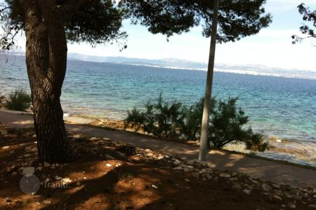 Development land for sale in Split-Dalmatia County. Building land in Sutivan first line from the sea