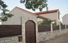 Coastal houses for sale in Croatia. Beautiful villa with a garden, a terrace with a sea view, a garage and a parking, Brac, Croatia