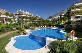 Spacious apartment with a terrace in a residential complex with a garden, swimming pools and a garage, Marbella, Spain for 790,000 €