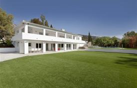 6 bedroom villas and houses to rent in Andalusia. Villa Agrasot, Golden Mile, Marbella