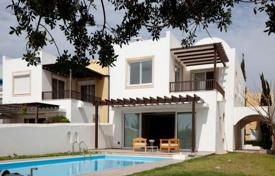 Luxury houses with pools for sale in Larnaca. Four Bedroom Detached Beach Front House