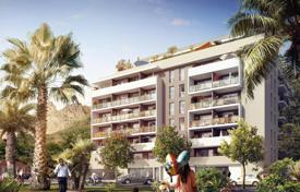 Cheap new homes for sale in Menton. Bright apartment in a new residence near the beach in Menton, Côte d'Azur, France