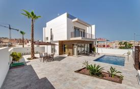 Houses from developers for sale overseas. Two-level villa with a terrace with a sea view, Villamartin, Spain