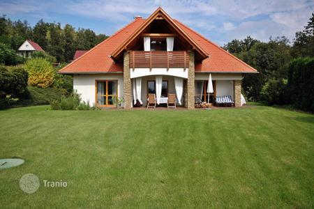 Houses for sale in Zala. Detached house next to the forest on the Northern coastline of Lake Balaton