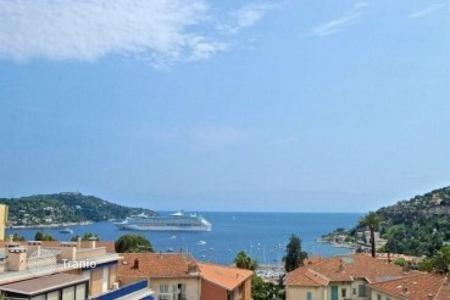 Penthouses for sale in France. Renovated penthouse with balcony and terrace, in Villefranche-sur-Mer, Cote d`Azur, France