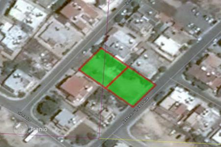 Development land for sale in Paphos (city). Two plot to be sold as one large piece in Agios Theodoros Paphos