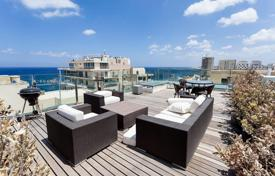 Apartments with pools for sale in Malta. A finished and furnished duplex penthouse in the heart of Sliema, close to all amenities