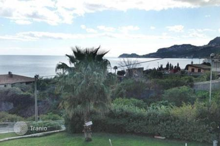 1 bedroom apartments for sale in Sicily. New apartment with different layouts, wonderful view of the sea and Taormina historical town in Letojanni, Sicily, Italy