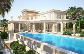 Luxury villas and houses with pools for sale in Costa Blanca. New villa with a garden and a swimming pool, Calpe, Spain