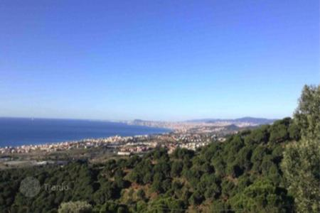 Property for sale in Europe. Development land in proximity to Mediterranean seashore, in a suburb of Barcelona
