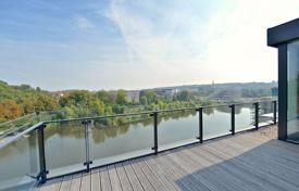 New home from developers for sale in Central Europe. Beatiful penthouse in a new residential complex, Prague 8, Czech Republic
