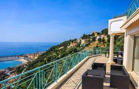 Houses with pools for sale in Menton. Modern villa in the hills of Menton