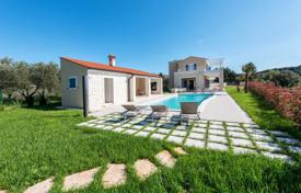 4 bedroom houses for sale in Istria County. Cozy villa with two terraces, a pool and a sauna, near the beach, Premantura, Istria County, Croatia