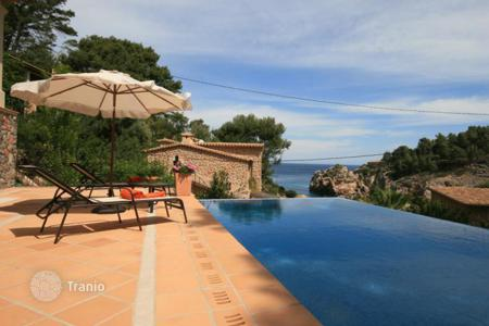 4 bedroom houses by the sea for sale in Southern Europe. Luxury villa with spectacular sea views, Deia, Spain