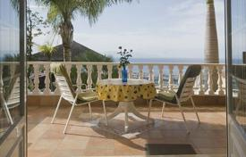 Coastal houses for sale in Spain. Villa-mini hotel with 4 apartments with sea view, near the beach, in a luxury area San Eugenio, Tenerife