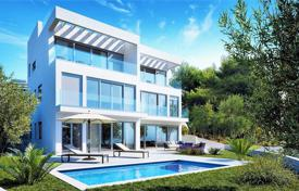 3 bedroom apartments for sale in Split-Dalmatia County. Modern apartment with a terrace and a sea view, Ciovo, Croatia