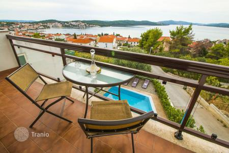 Coastal property for sale in Split-Dalmatia County. The three-level villa near the sea on the island of Ciovo, Croatia