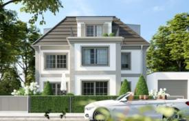 3 bedroom houses for sale in Bavaria. New house with a terrace near the river, Munich, Germany