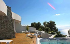 Apartments with pools by the sea for sale in Altea. Luxury apartment with sea views in Sierra de Altea