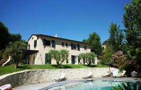 4 bedroom houses for sale in La Roquette-sur-Siagne. BASTIDE STYLE PROPERTY POOL