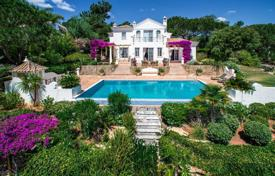 Luxury 4 bedroom houses for sale in Portugal. Rustic villa with a swimming pool and a covered terrace, Quinta do Lago, Portugal