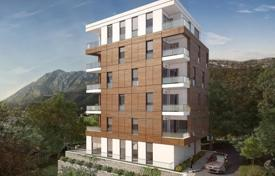 Coastal new homes for sale in Becici. Apartments in a new complex in Becici