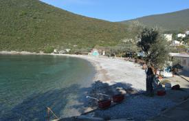 Development land for sale in Montenegro. Waterfront plot with stunning sea views in Lustica, near the attractive beach of Zanjice, Herceg Novi, Montenegro