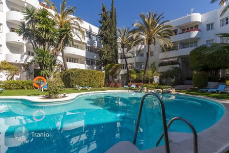 2 bedroom apartments by the sea for sale in Europe. 2-bedroom apartment in residence with pool and fitness-club? at the first sea line, Málaga, Spain