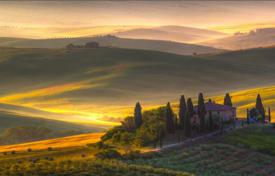 Luxury residential for sale in Montalcino. Wine farm in the north of Montalcino, Tuscany, Italy