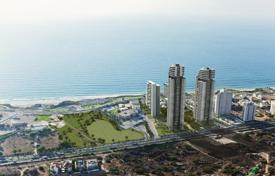 Coastal new homes for sale in Israel. Apartments in a luxury complex on the first line, 300 meters from the sea in Netanya, Israel