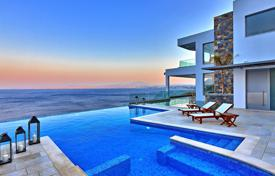 Luxury 6 bedroom houses for sale in Crete. Premium villa with a private beach in Heraklion, Crete, Greece