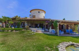 4 bedroom houses for sale in Pollença. Classical-style villa with panoramic views, a pool, a tennis court and a large plot on the hilltop, Pollenca, Spain