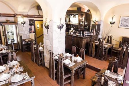Commercial property for sale in the Czech Republic. The operating Czech cuisine with a summer terrace, bar and brewery in the historic center of Prague (1st district), Czech Republic